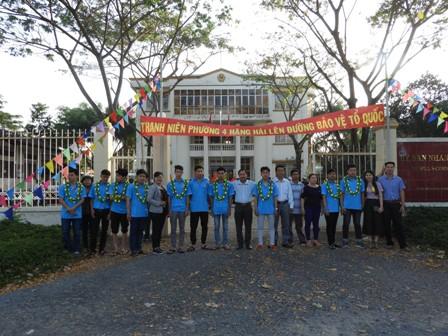 Thanh niên phường 4 hăng hái lên đường thi hành NVQS năm 2018