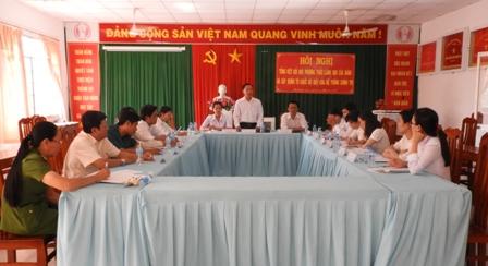 Đảng ủy Phường 4 tổng kết đổi mới phương thức lãnh đạo của Đảng,  xây dựng hệ thống chính trị tinh gọn, hoạt động hiệu lực, hiệu quả.